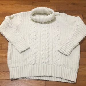 Gap Cable knit turtle neck sweater